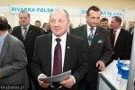 Minister rolnictwa Marek Sawicki i wicewojewoda podlaski Wojciech Dzierzgowski
