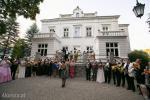 Prezentacja artystów po koncercie, kłania się Olena Skrok